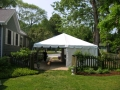 Where to rent TENT, 20  X 20  FRAME SOLID WHITE in Lake Charles LA