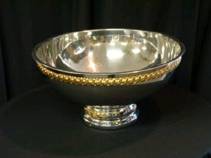 Where to find BOWL, STAINLESS 5 GL W GLD in Lake Charles
