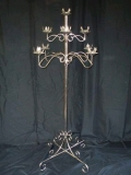 Where to rent CANDELABRA, SILVER 9 LITE TREE in Lake Charles LA