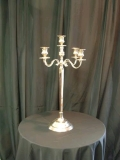 Where to rent CANDELABRA, TABLETOP 5-LITE SILVER 31 TALL in Lake Charles LA