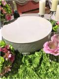 Where to rent CAKE STAND, 19  RND IVORY HAND PAINTED in Lake Charles LA