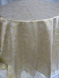 Where to rent 54 X120  GOLD VERSAILLE LINEN in Lake Charles LA