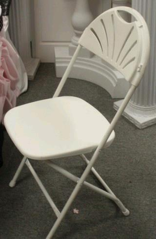 Where to find CHAIR, WHITE FANBACK in Lake Charles