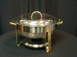Where to find CHAFER, W GOLD 4 QT RND in Lake Charles