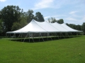 Where to rent TENT, 40  X 80  CENTURY PEAK TOP  WHITE in Lake Charles LA