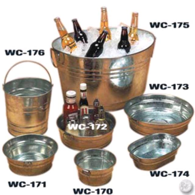 Where to find COOLER, BEVERAGE GALVANIZED TUB in Lake Charles