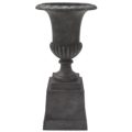 Where to rent URN, PLANTER BLACK RUSTIC 2 PC SET in Lake Charles LA