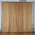 Where to rent PANEL, 8 X48  GOLD SEQUIN SHEER in Lake Charles LA