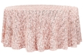 Where to rent 120  RND PINK BLUSH ROSETTE ON MESH in Lake Charles LA
