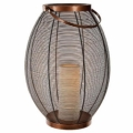 Where to rent LANTERN, COPPER 16  OVAL W CANDLE in Lake Charles LA