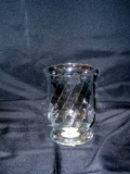 Rental store for VASE, GLASS 8  CLEAR HURRICANE in Lake Charles LA