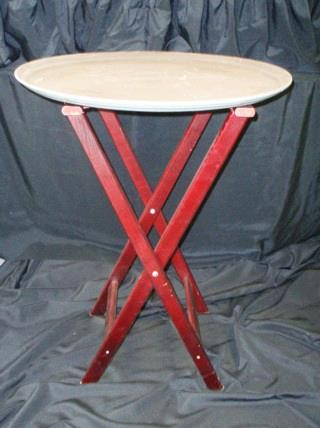 Where to find STAND, WAITER TRAY WOOD CHERRY in Lake Charles