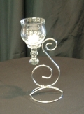 Where to rent CANDELABRA, SILVER SCROLL W TEARDROP VOT in Lake Charles LA