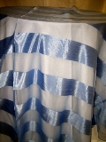 Where to rent 120  RND BLUE PERIWINKLE ETERNITY STRIPE LINEN in Lake Charles LA
