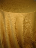 Where to rent 120  RND GOLD DAMASK LINEN in Lake Charles LA